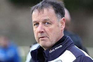Lutterworth Athletic manager Mike English