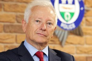 Leicestershire's Police and Crime Commissioner Lord Willy Bach