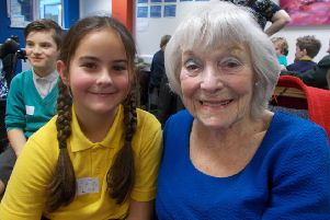 Making new friends during the care home visit