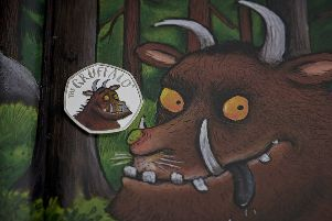 The Gruffalo coins are not for general circulation