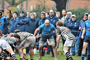 Ben Polhill ready to pounce / Picture by Michael Clayden