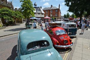 Market Harborough Classic Car Show in 2018. PHOTO BY ANDREW CARPENTER