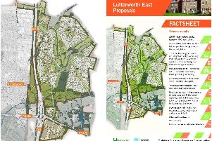 The masterplan for the expansion site