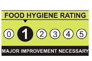 The Food Standards Agency lists the hygiene ratings of all businesses serving food.