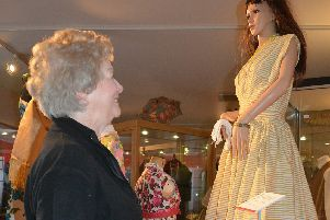 The 'Fabulous Fifties and Swinging Sixties' catwalk display at Bexhill Museum SUS-190320-153438001