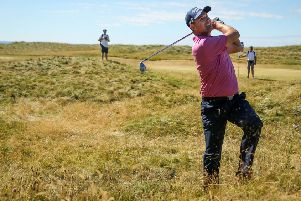 Padraig Harrington was pleased with his competitive return to action.