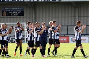 Corby Town are hoping to give their fans something to cheer about in their final Saturday home game of the season this weekend
