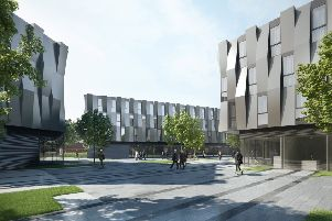 CGI of the plans for the canal side area near Althorpe Street.