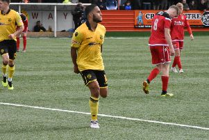 Nathan Hicks was one of the star performers in AFC Rushden & Diamonds debut season at Step 3 and he is staying on for another campaign