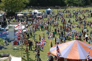 Crowded...the Harborough carnival showground. (Picture: Andrew Carpenter/001306-46)