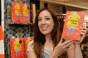 Local author Tamsin Winter with her new book at Waterstones in Market Harborough. PICTURE: ANDREW CARPENTER