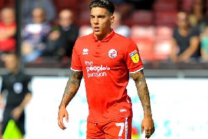Crawley Town's Reece Grego-Cox. Picture by Steve Robards