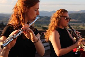 Flautist Jemma Freestone also benefitted from support by MHBC during her training