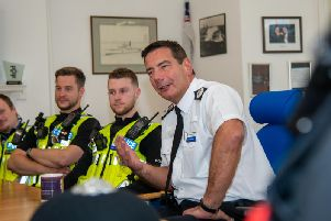 Chief Constable Nick Adderley. Photo: Northamptonshire Police