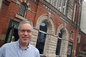 Melton Vineyard Church senior pastor, Neal Swettenham, outside the old Baptist Chapel, which is being transformed into the Hope Centre EMN-190816-171400001