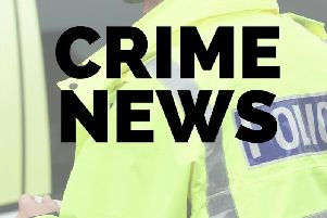 An incident in Corby has involved a police car and a stolen vehicle