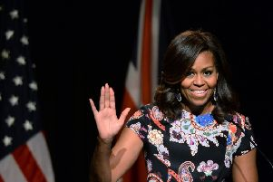 Michelle Obama coined one of the great political slogans of this century ' 'When they go low, we go high'