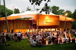 Kilworth House's open-air theatre