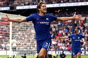 Chelsea Marcos Alonso.