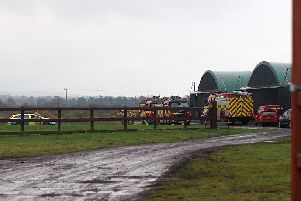 The Scene at Causeway Airfield at Aghadowey on Saturday afternoon. Pic Matt Steele/McAuley Multimedia