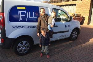 Lauren Shields, owner of fill foods offers an eco friendly, zero landfill shopping  service - delivered straight to your door.