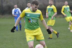 Terry Robinson scored one goal and had a hand in the other two as Westfield won 3-2 away to Angmering Seniors. Picture by Simon Newstead