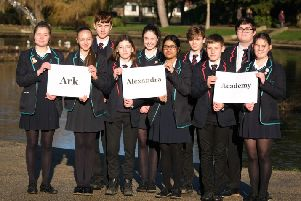 William Parker and Helenswood students reveal the new school name