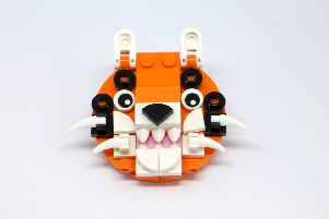 Tiger Lego Brick Model SUS-191202-112910001