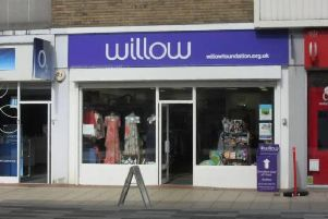 Willow Foundation shop in Marlowes