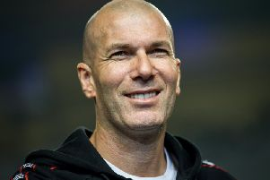 Zinedine Zidane (Photo -/AFP/Getty Images)