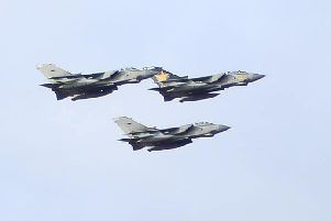 Lincolnshire has said farewell to the Tornado jets which are being retired.