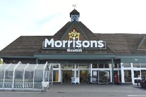 Morrisons store Leighton Buzzard. Photo by Dave Flemming