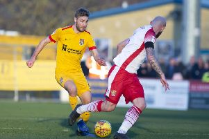 Sam Foley returned to the Cobblers team on Saturday