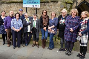 Citizens Advice, London Road, St Leonards.'Some of the team are pictured. SUS-170330-092645001