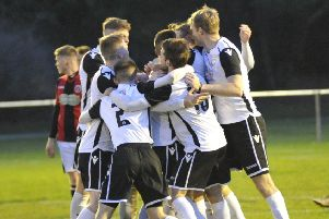 Bexhill United will be hoping to have plenty to celebrate when they host Oakwood tomorrow. Picture by Simon Newstead