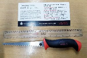 Police announced the find on Twitter. Picture: Sussex Police