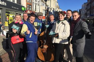 Jive Aces say no to drugs in Hastings SUS-190313-103400001