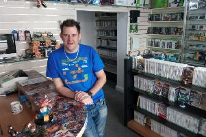 Thomas Steadman, of Games Central.