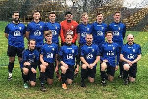 The Sedlescombe Rangers Football Club first team which has reached cup finals on consecutive weekends