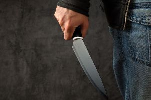 Knife crime (archive image)