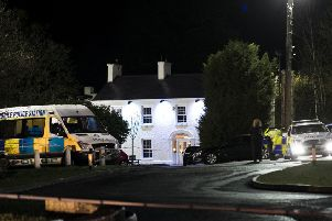 Greenvale Hotel in Cookstown Co. Tyrone in Northern Ireland where it is believed that two people have died at a party that was being hosted at the hotel on St Patrick's Day. Photo: Liam McBurney/PA Wire
