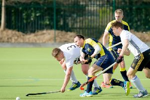 Action from earlier this month when the Men's 1sts drew 5-5 with Beeston