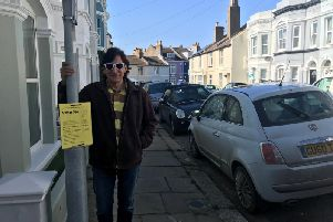Michael Rock in Alpine Road, one of the streets where the scheme is proposed