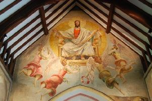 One of the Paintings in Berwick Church