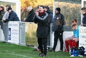 Arundel manager Simon Hull. Picture by Derek Martin Photography