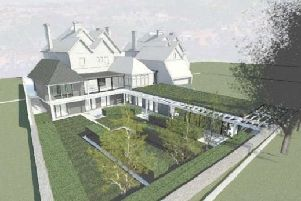 An artist's impression of the care home conversion in Eastbourne SUS-190424-122825001