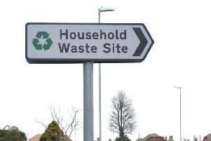 Charges for some items of non-household waste were introduced at East Sussex rubbish tips last year