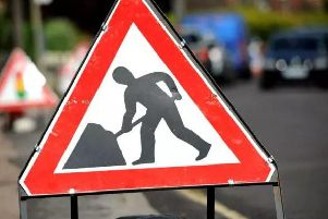 Motorists are being warned about possible delays in Hatton.