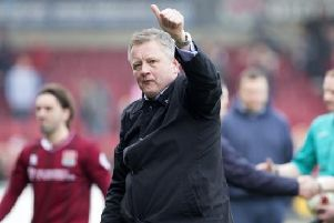 Chris Wilder left the Cobblers for Sheffield United three years ago this month