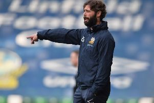 Glenavon manager Gary Hamilton. Pic by Pacemaker.